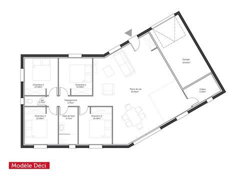 maison plain pied 4 chambres plan de maison neuve gratuit plan maison neuve etage plan maison neuve plain pied with plan