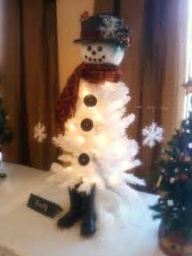 craft of the season frosty the snowman tree the rosarian