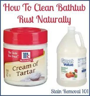 unique remove rust stains ideas  pinterest remove