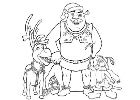 Top Shrek Coloring Pages 02