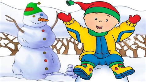 Caillou's Christmas Snowman And Santa Full