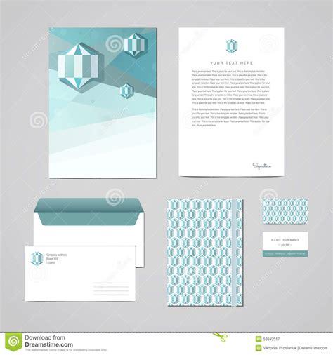 corporate identity design template documentation