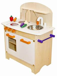 Weisse kinder spielkuche aus holz 4260389463995 for Kinder spielküche