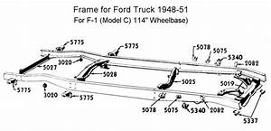 flathead parts drawings suspensions With 1949 ford coe truck