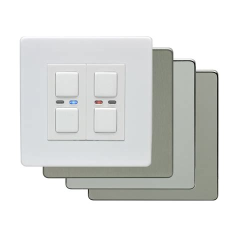 light dimmer switch lightwaverf 2 1 way light switch dimmer lw452