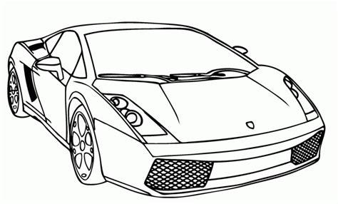 stampa disegno  auto  lusso da colorare