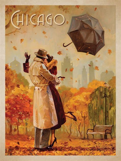 travel vintage posters  anderson design