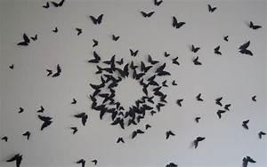Papillon Décoration Murale : diy d coration murale l 39 envol e de papillons ~ Teatrodelosmanantiales.com Idées de Décoration