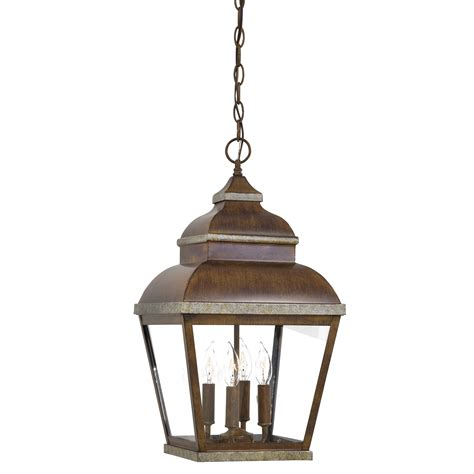 great outdoors by minka mossoro 4 light outdoor hanging