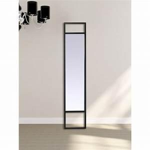 Miroir Metal Noir : miroir m tal long noir ~ Teatrodelosmanantiales.com Idées de Décoration