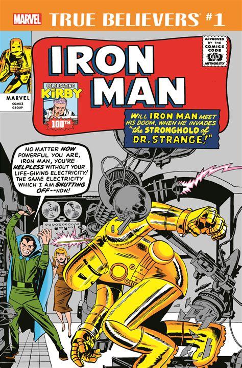 True Believers: Kirby 100th - Iron Man (2017) #1 | Comic ...
