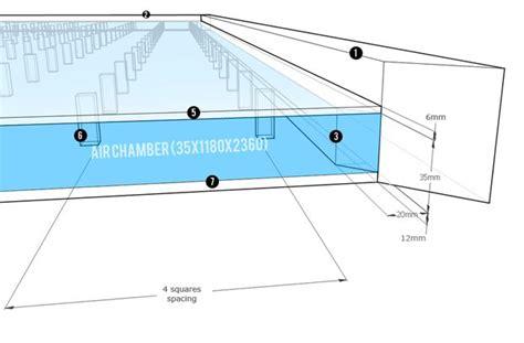 air hockey table dimensions diy air hockey table