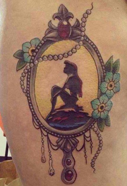 anchor mermaid tattoos