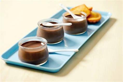 recette de petits pots de cr 232 me chocolat cannelle et madeleines au miel facile et rapide