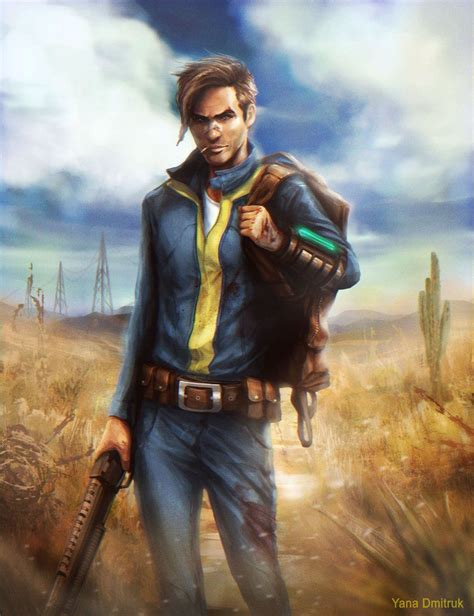 Lone Wanderer By Straidy On Deviantart Fallout Lone