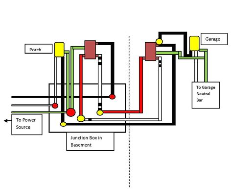 Wiring 2 Schematic In One Box Diagram by Electrical How Can I Wire This Three Way Circuit Between