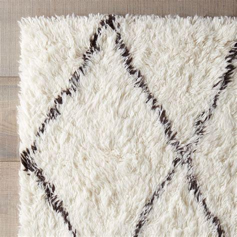 white and brown rug varick gallery simonds white brown shag area rug