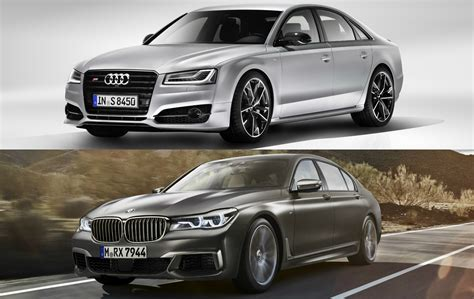 Vs Bmw by Spec Comparison Audi S8 Plus Vs Bmw M760li Xdrive