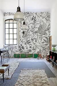 48 eye catching wall murals to buy or diy brit co With kitchen colors with white cabinets with hand drawn wall art