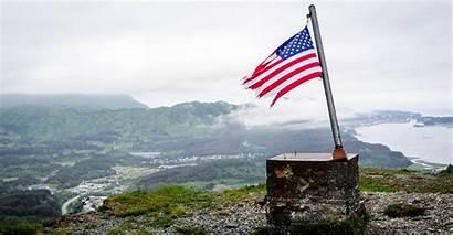 America Flag American Mountain Brave Still Amelia