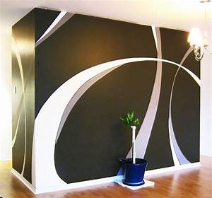Wall paint design by saadcreative on deviantart for Painting a design on a wall