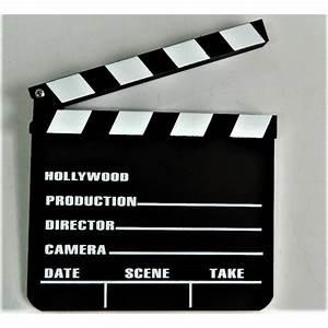 Objet Deco Cinema : clap cin ma r alisation de film 20x19x0 3 cm achat vente objet d coration murale cdiscount ~ Melissatoandfro.com Idées de Décoration