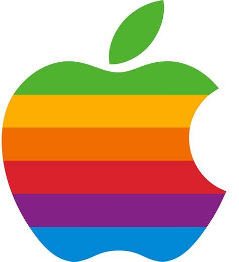 apple rainbow hd 3d emblem brands