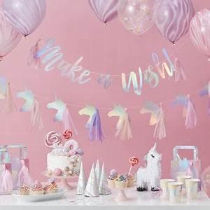 Decoration Licorne Chambre : d coration anniversaire fille licorne d co design chambre b b enfant d co anniversaire ~ Teatrodelosmanantiales.com Idées de Décoration