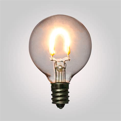 led filament light bulbs g40 globe vintage look energy