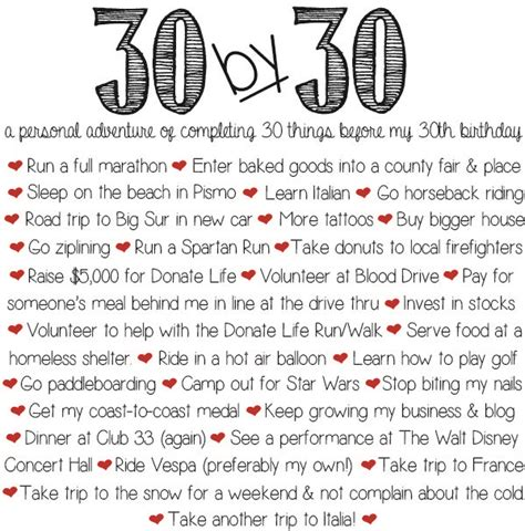 18 best images about things to do before i m 30 on