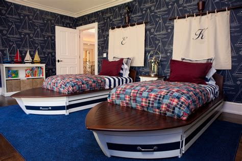 Nautical Themed Boys' Room