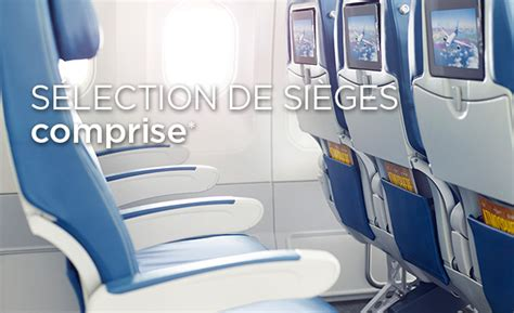 selection siege air transat option plus air transat