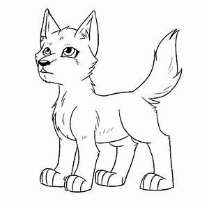 Sad Dog Cartoon Character