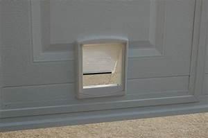 pourquoi choisir un installateur professionnel With chatiere porte garage basculante