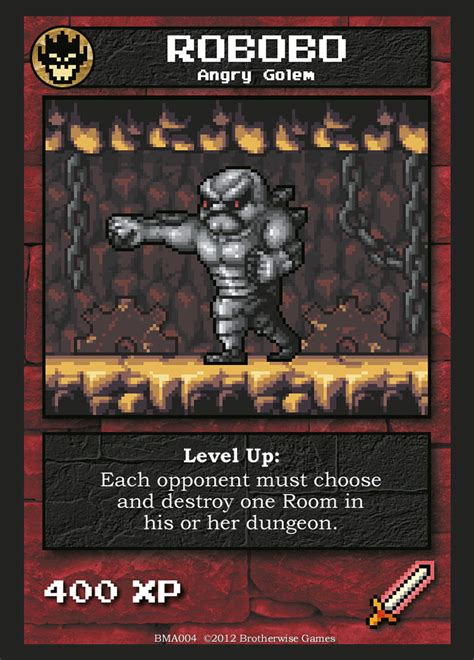 But there just isn't enough game here for my tastes. Robobo   Boss Monster the Dungeon-Building Card Game Wiki   FANDOM powered by Wikia