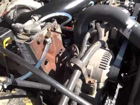 check  air  fuel lines   ford   idi