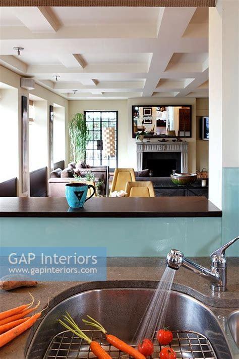 kitchen sinks trinidad and tobago gap interiors detail of kitchen sink image no 0036553