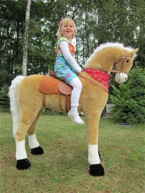 super grosses pferd giant blondie zum drauf reiten