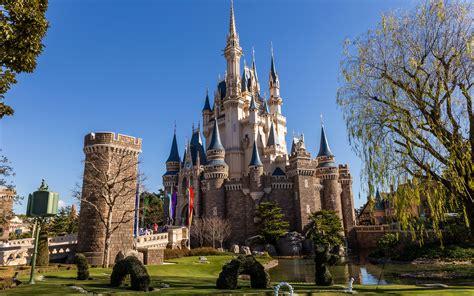 Photos Tokyo Disneyland Japan Tower Castles Parks Cities