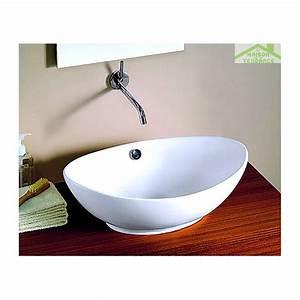 vasque ovale salle de bain carrelage salle de bain With salle de bain design avec vasque de salle de bain castorama