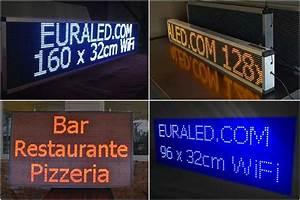 Panneau Lumineux Message : panneaux led d roulants journaux lumineux led enseignes led euraled ~ Teatrodelosmanantiales.com Idées de Décoration