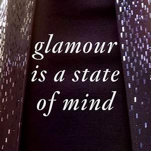 """Glamour i... Fashion Glamour Quotes"