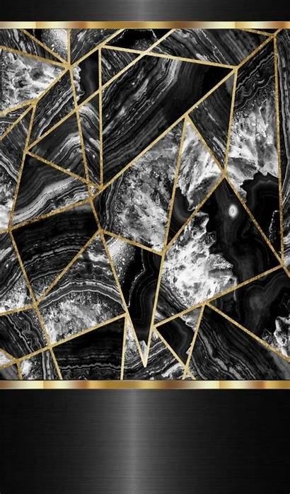 Gold Silver Marble Background Aesthetic A3