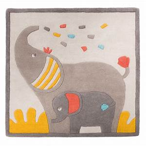 tapis de chambre bebe en laine 110x110cm les papoum de With tapis chambre bébé avec livraison fleurs soir