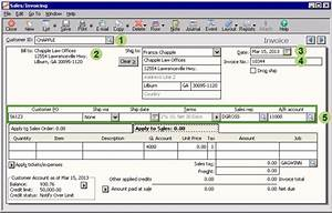 sage 50 learning sales transactions With sage line 50 invoice template