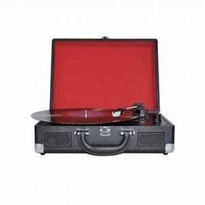 Acheter Platine Vinyle : platine vinyle dea retro valise platine d 39 coute acheter sur ~ Melissatoandfro.com Idées de Décoration