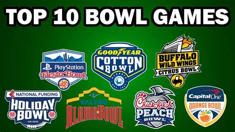 top  bowl games    college football youtube
