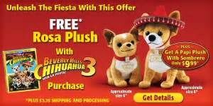The Best Deals on Beverly Hills Chihuahua 3 + $5 off coupon!