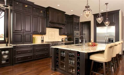 secret  create distressed black kitchen cabinets