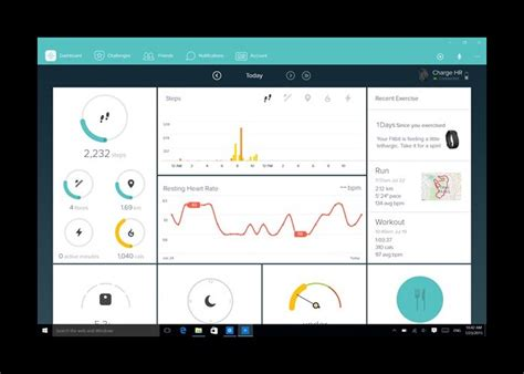 fitbit windows 10 app brings cortana support and more